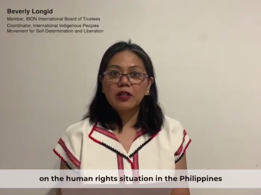 Video: IBON International Statement on the 44th Session of the UN Human Rights Council
