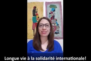 IBON Int'l on international solidarity at the 10th ILPS Inter Views