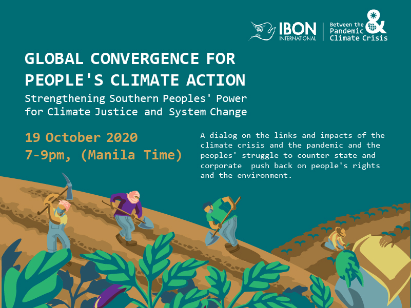 ONLINE DIALOG / Global Convergence for Peoples' Climate Action (19 October)