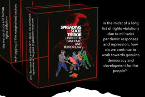 "UPCOMING BOOK: ""Spreading State Terror Under the Pandemic and Terror Law"""