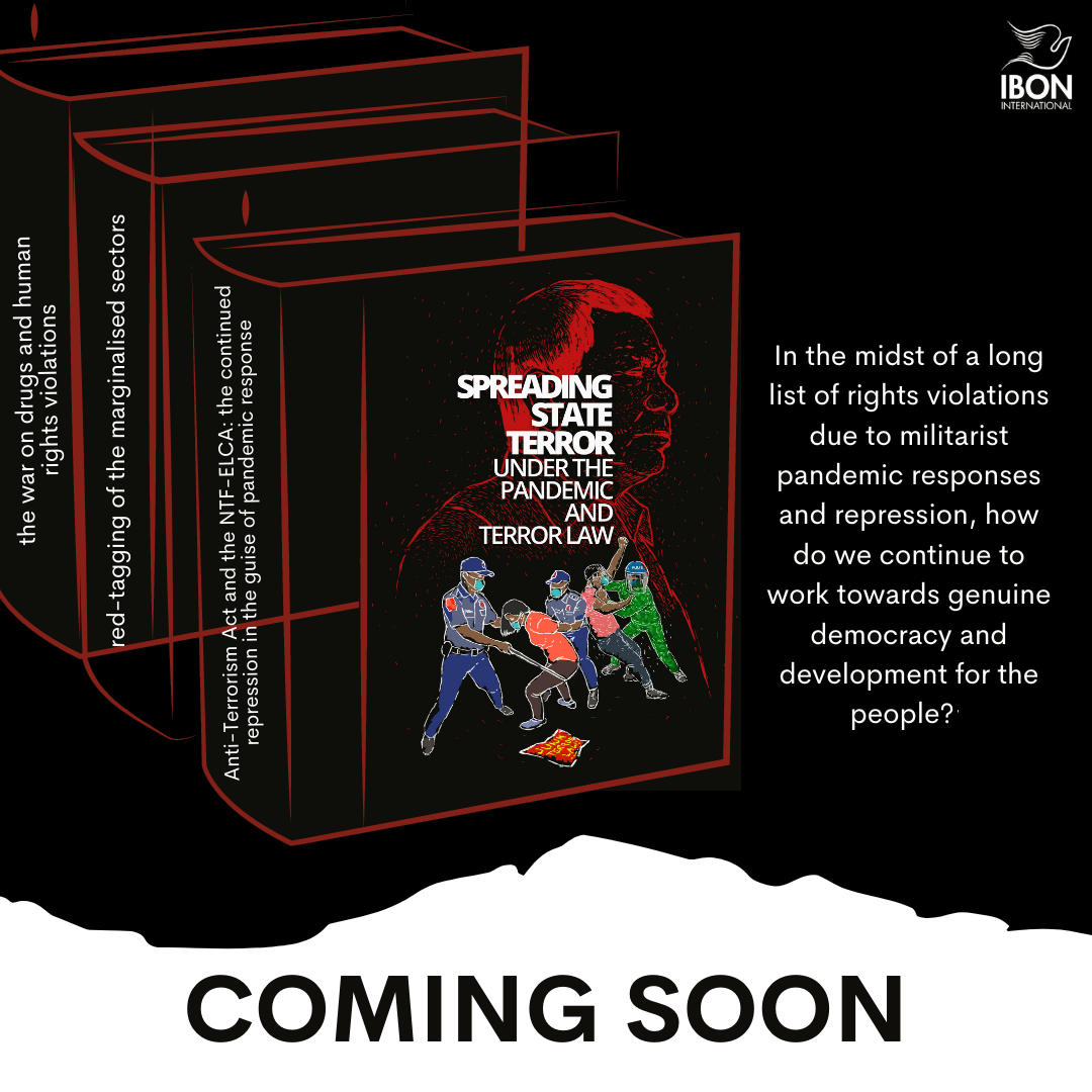 """UPCOMING BOOK: """"Spreading State Terror Under the Pandemic and Terror Law"""""""