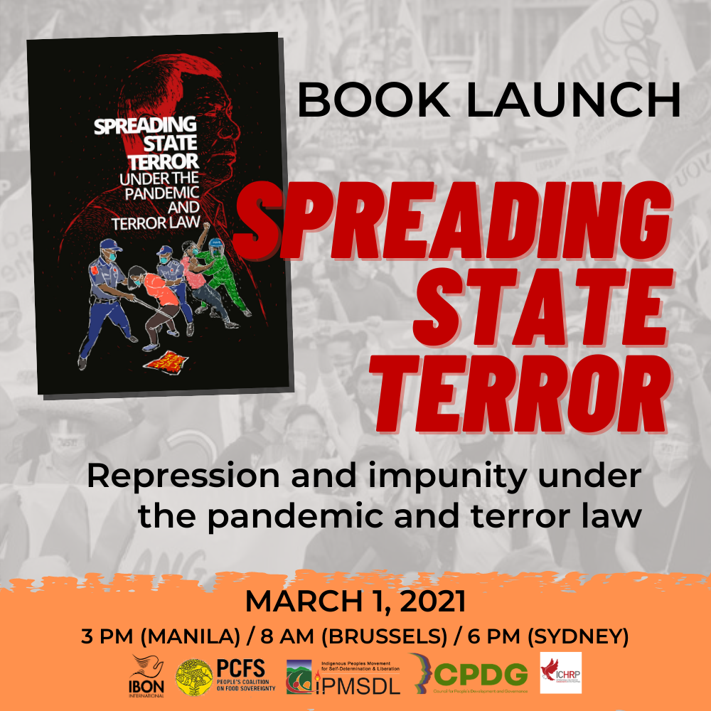 BOOK LAUNCH / Spreading State Terror under the pandemic and the Terror Law