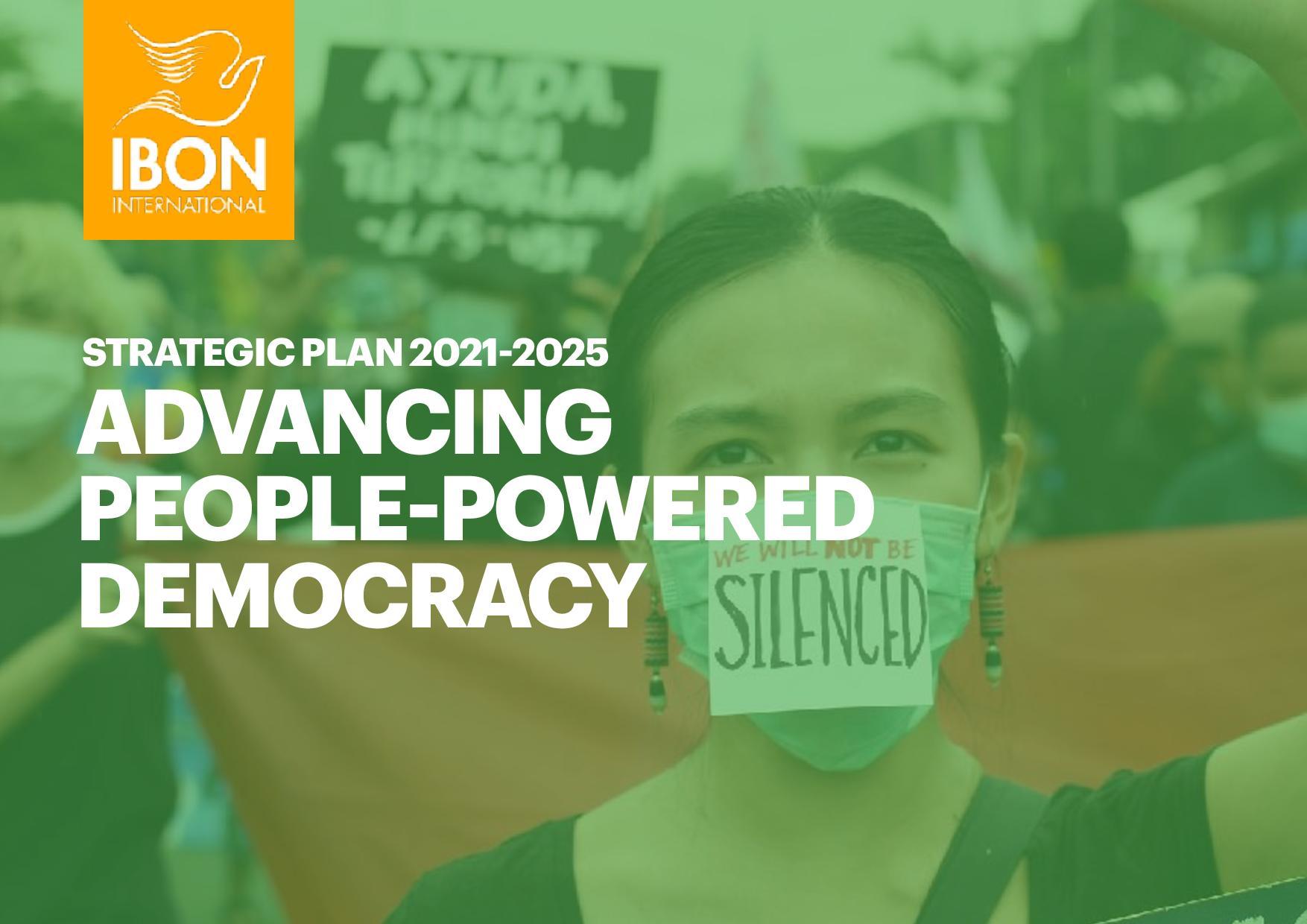 "Strategic Plan 2021 - 2025 <span class=""pt_splitter pt_splitter-1"">Advancing People-Powered Democracy</span>"