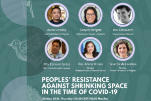 WEBINAR / Peoples' Resistance Against Shrinking Space in the Time of COVID-19 (May 20)