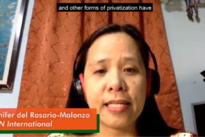 On blended finance: Another privatisation scheme against people's interests