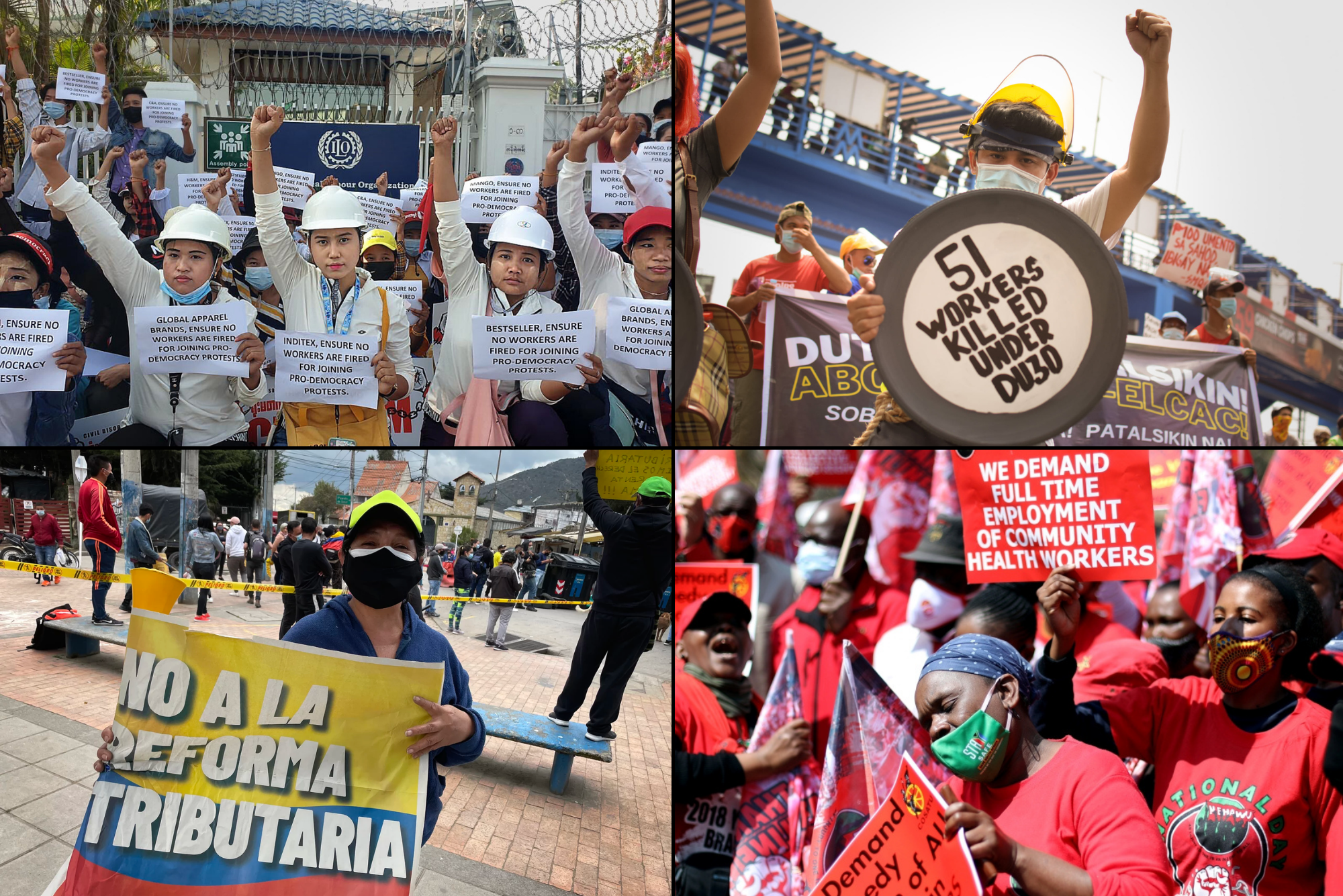 Affirm the key role of workers in social transformation of the crisis-stricken system
