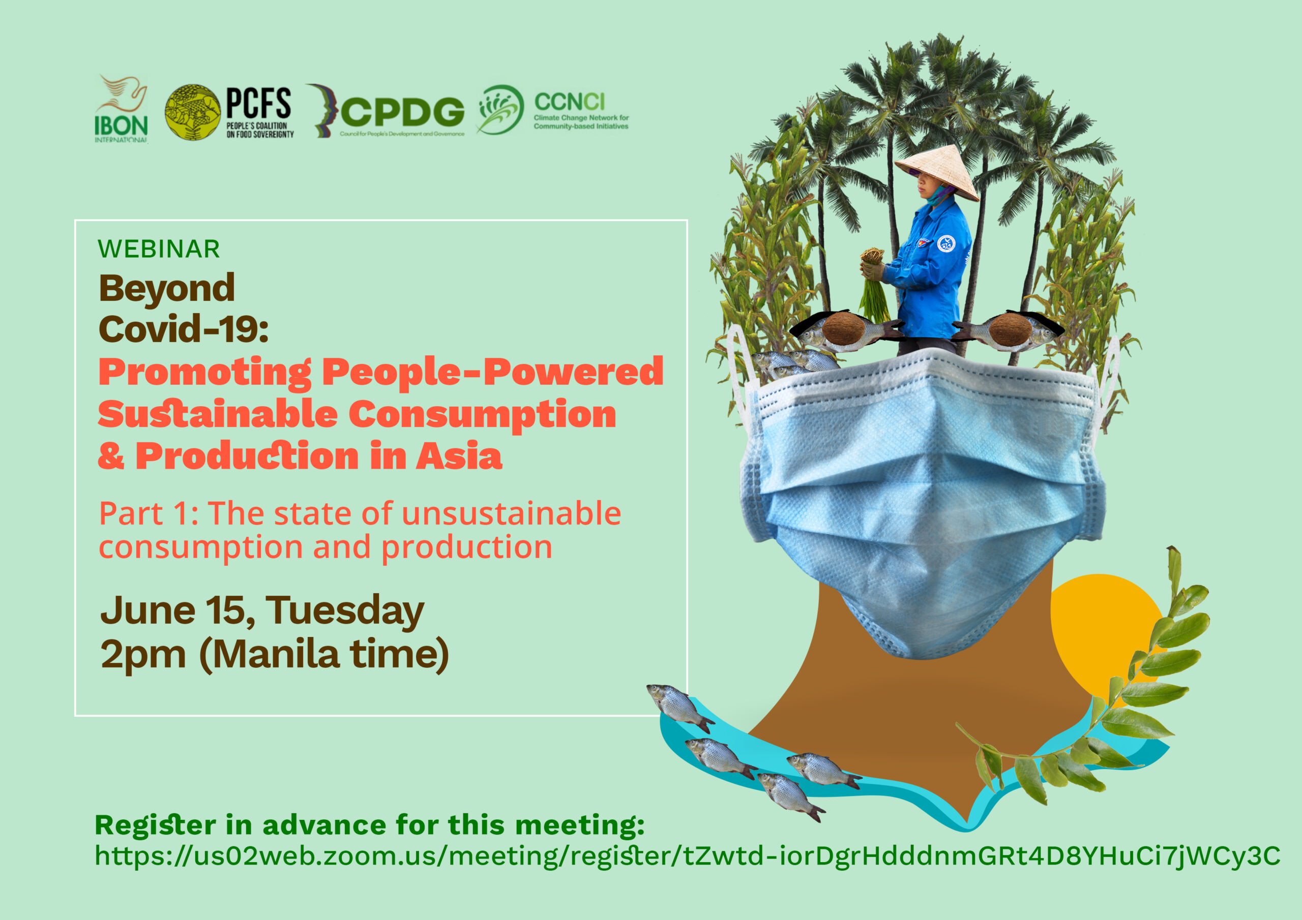 WEBINARS / Beyond Covid-19: Promoting People-Powered Sustainable Consumption in Asia and Africa (June 15 & 18)