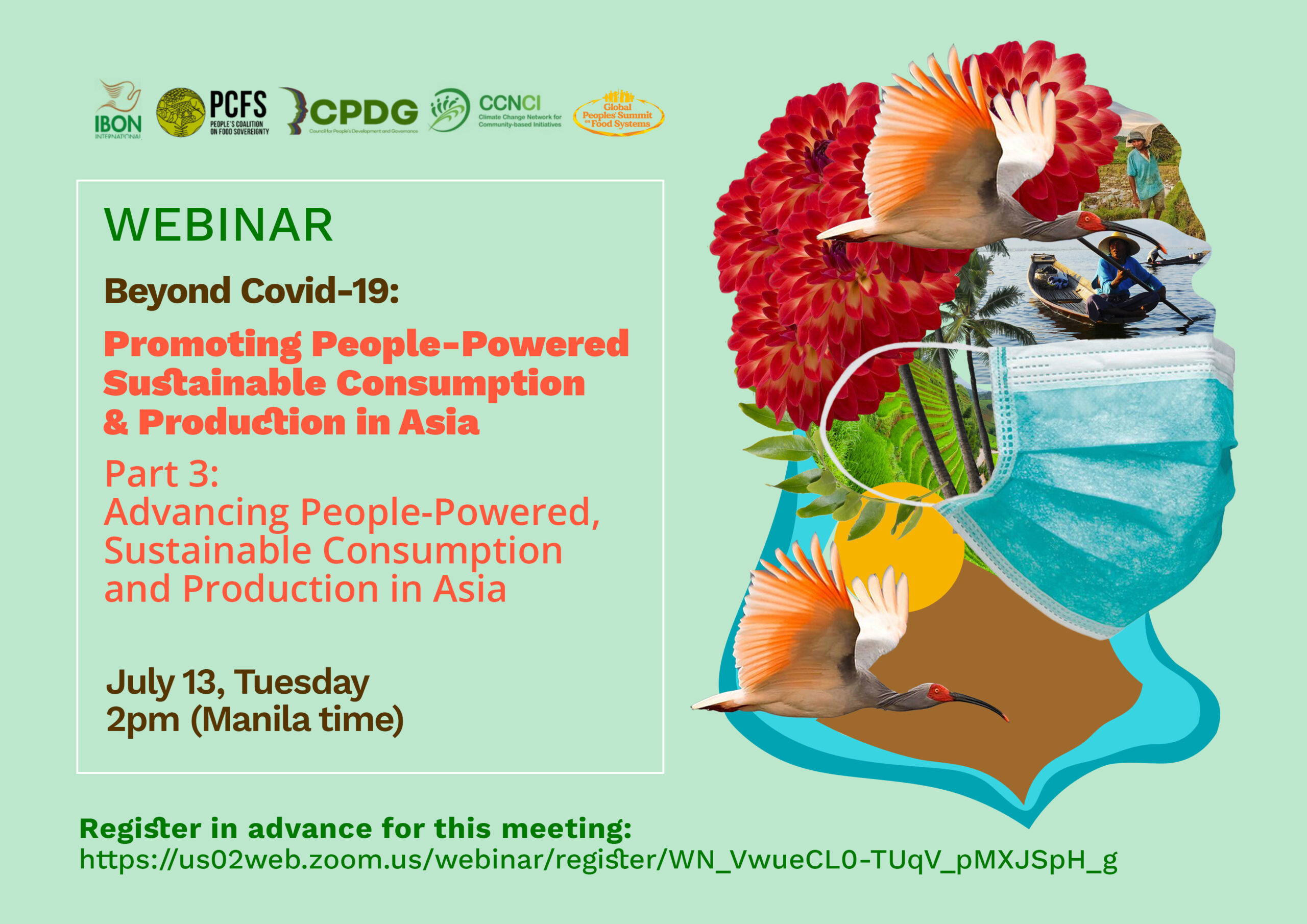 Webinar Series on Sustainable Consumption and Production in Asia and Africa