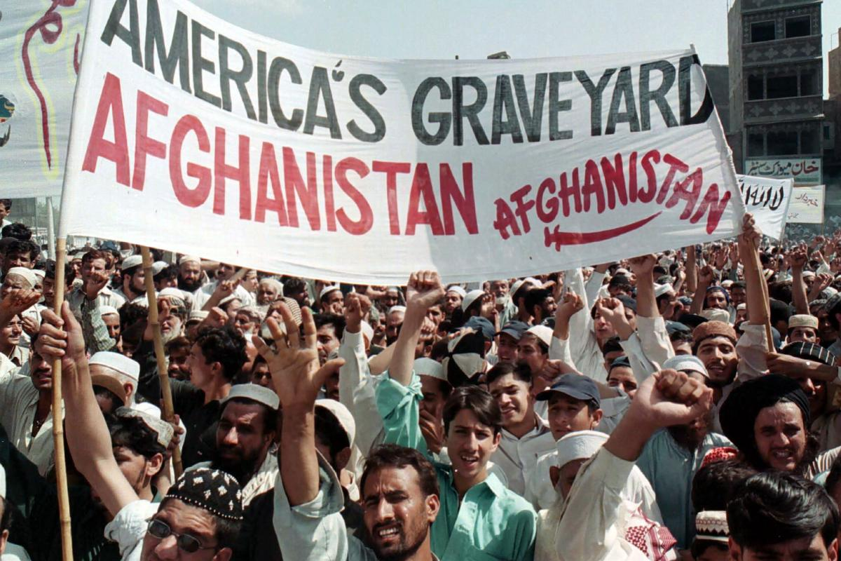 """Solidarity with the Afghan people, end the US """"War on Terror"""" and war machine"""